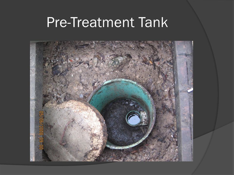 Pre-Treatment Tank