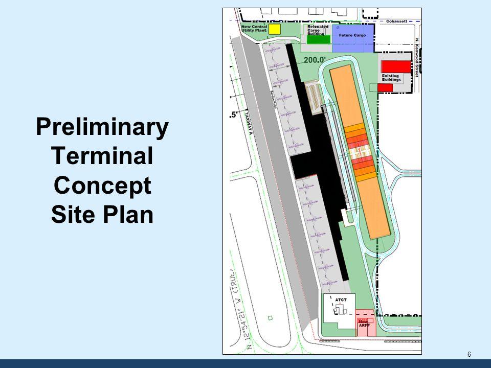 Preliminary Terminal Concept Preliminary Terminal Concept Site Plan 6