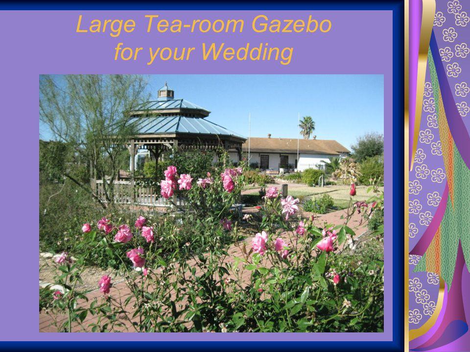 Large Tea-room Gazebo for your Wedding