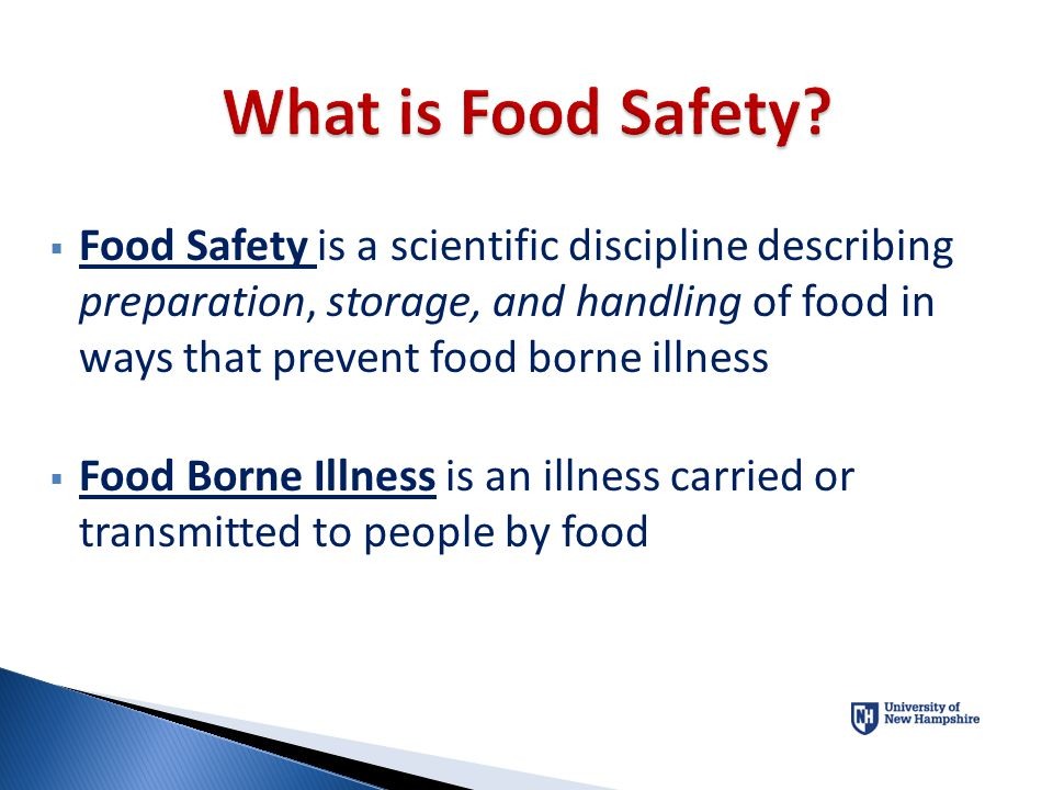 You will be working in a position that has the potential to make many people sick; possibly even causing them to suffer from serious medical complications that require them to seek medical care if you do not follow some basic Food Safety rules.