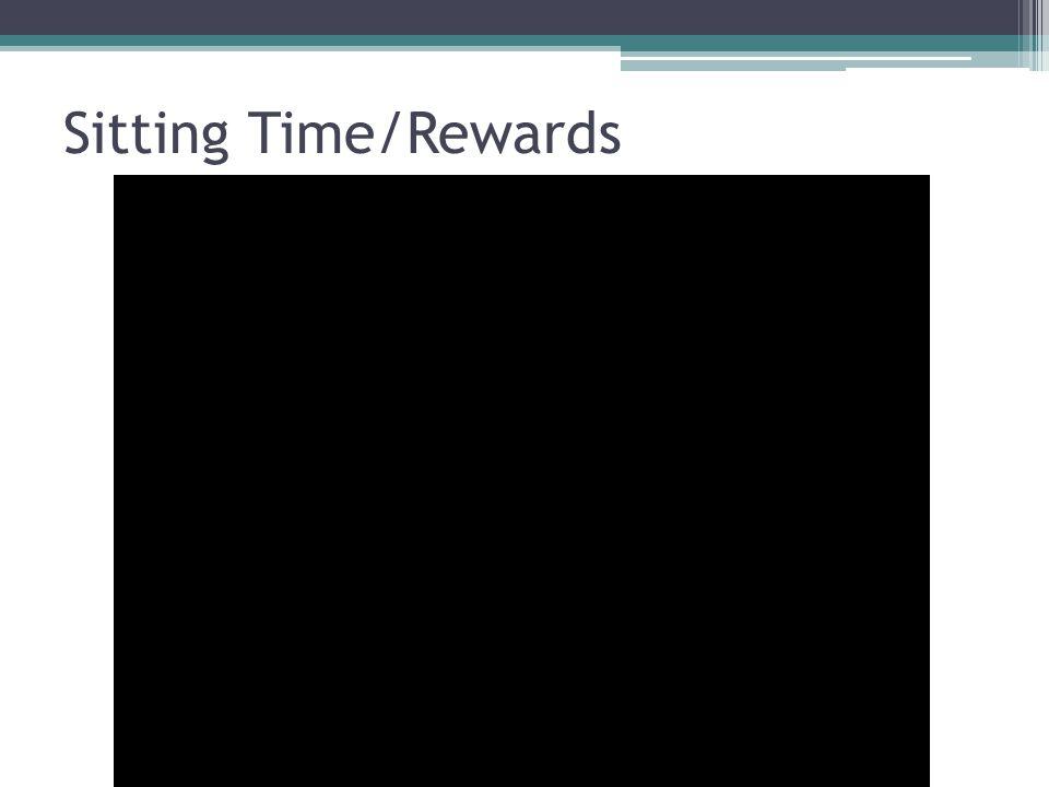Sitting Time/Rewards