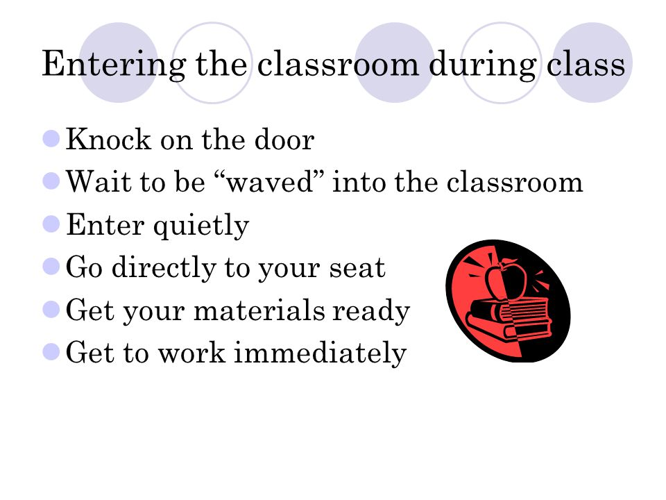 Instructional Time Structure Bell work to be done daily Bell work reviewed Instructional period Closing remarks Exit work and home learning