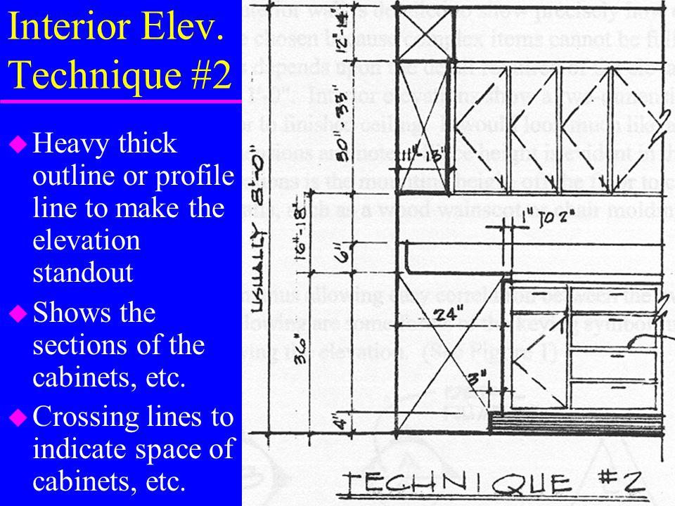 Kitchen Elevation Example