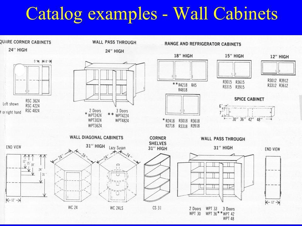 Catalog examples - Base Cabinets u Olympia Cab Manuf, Salt Lake City, Utah