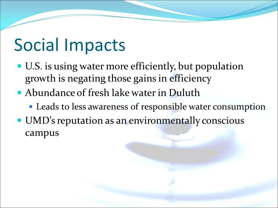 Social Impacts U.S.