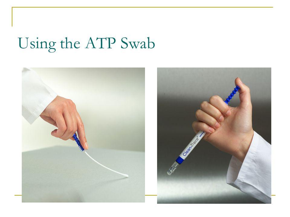 Using the ATP Swab