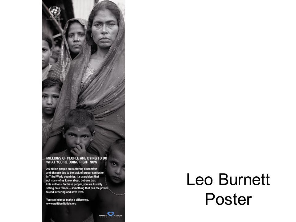 Leo Burnett Poster