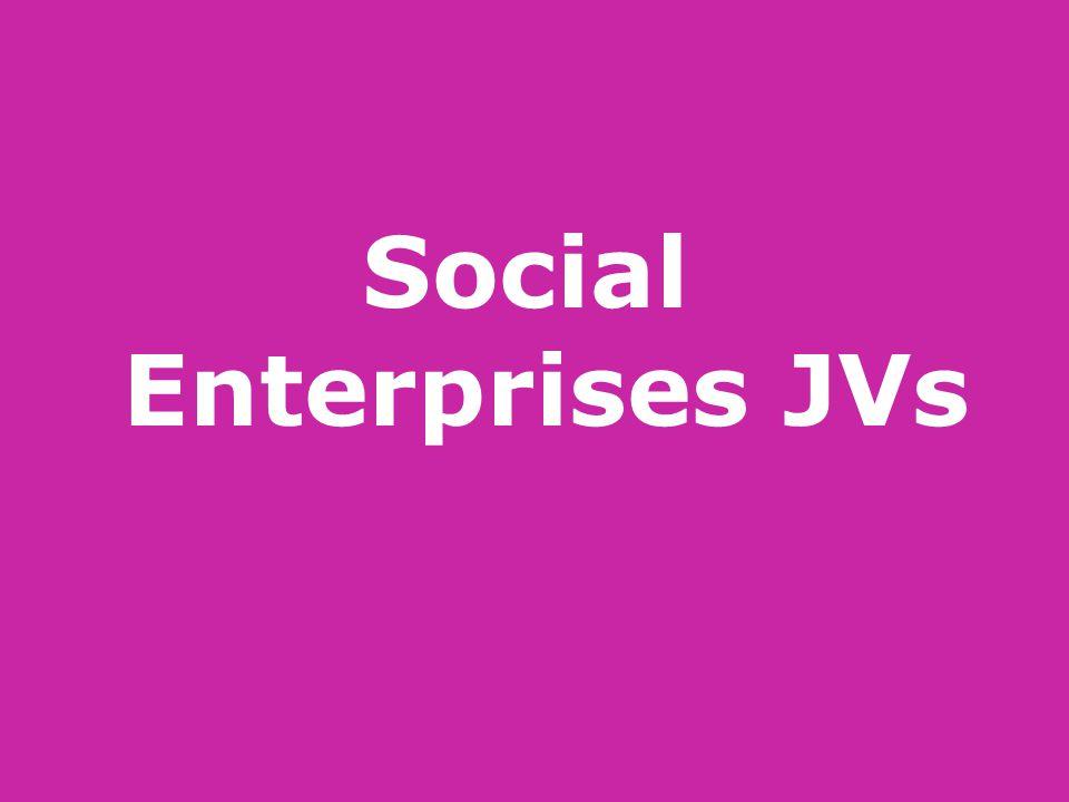 Social Enterprises JVs