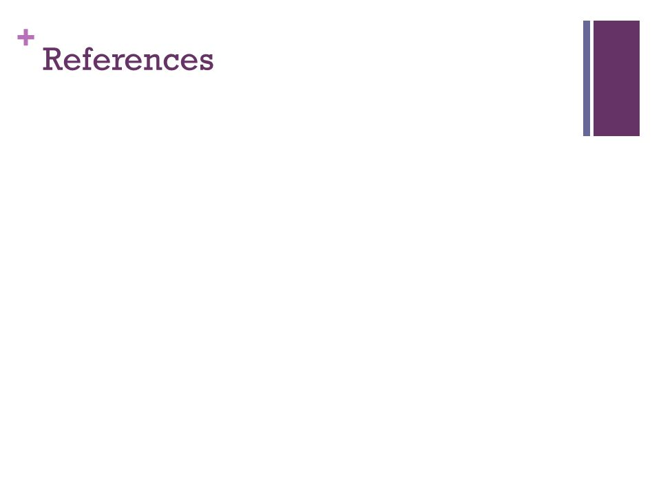 + References