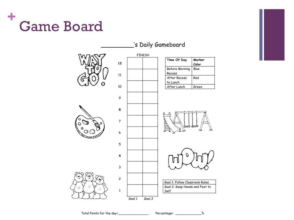 + Game Board