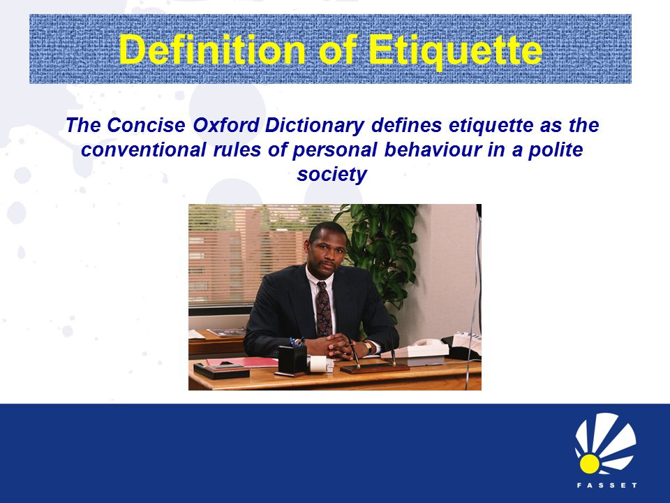 Office Etiquette Personal Behaviour Polite Society Conventional Rules