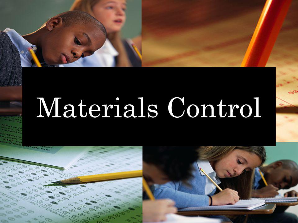 Materials Control