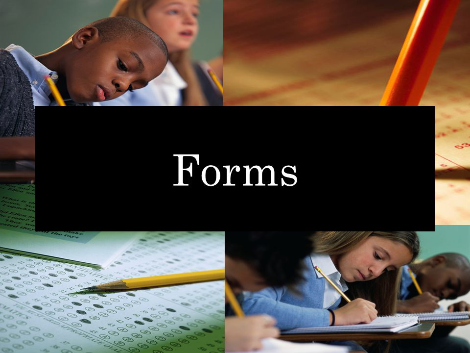 The Beauty of Forms Student Tracking: – Absentee documentation – LEP exemptions – Score code O ther – Refusal documentation You never want to have to spend too much time doing research when checking in answer documents.