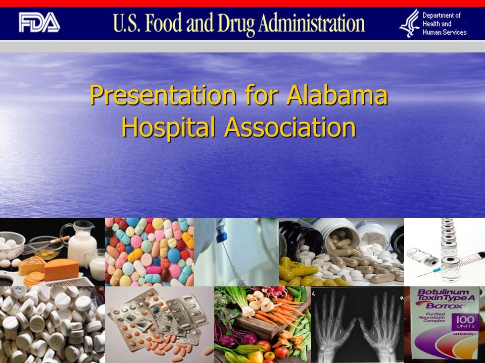 Presentation for Alabama Hospital Association