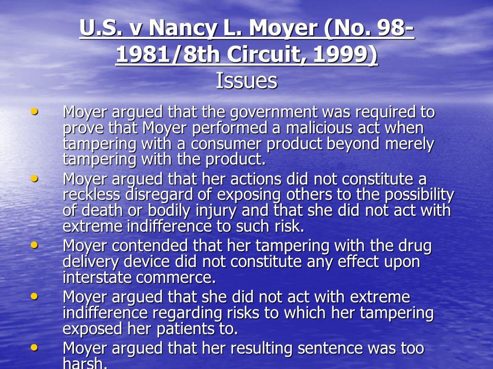 U.S. v Nancy L. Moyer (No.