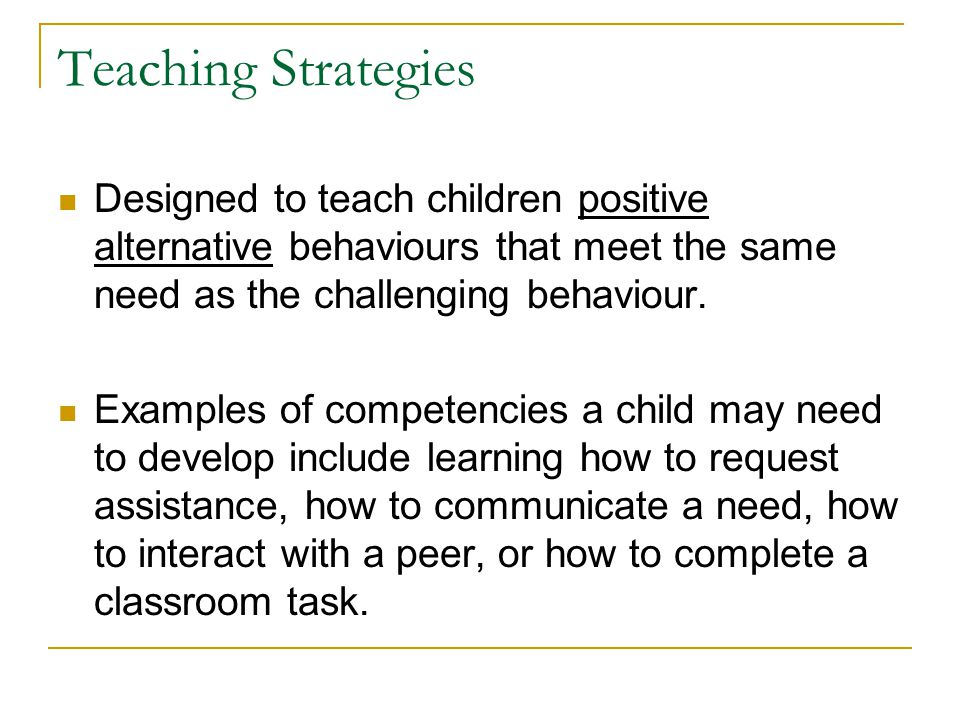 D.Environmental Strategies: Techniques for Matching Instructional Demand and Learning Capability Task-Skill Matching Class-Wide Peer Tutoring