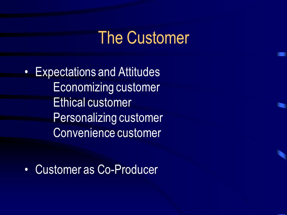 Employee Perceptions of Customer Service at a Branch Bank Terrible Outstanding