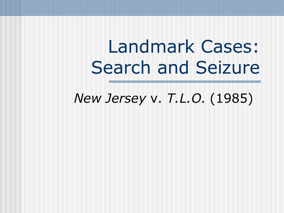 Background Summary: New Jersey v.