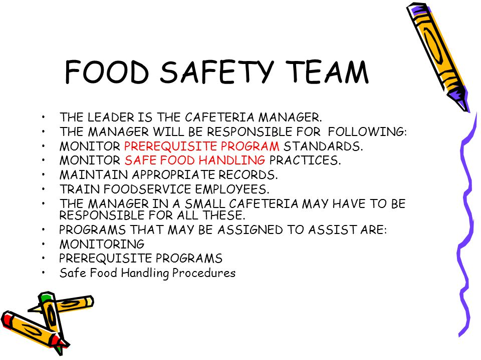 Operation Assessment Prerequisite Programs Safe Food Handling Practices START OPERATION ASSESSMENT BY COLLECTING LAST SY Health Inspections for the last 3 yrs and chronologically file behind pg.