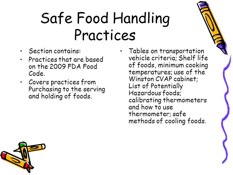 Monitoring and Record Keeping This tracks how well managers and the food safety Team are implementing the HACCP plan.