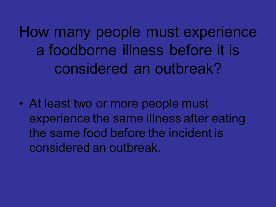 What are the costs of foodborne illness.Loss of customers and sales.