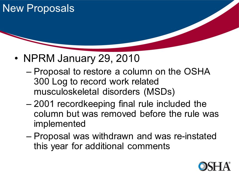 Recent Interpretations Answer – Yes.LHCP recommended a return to work with restrictions.