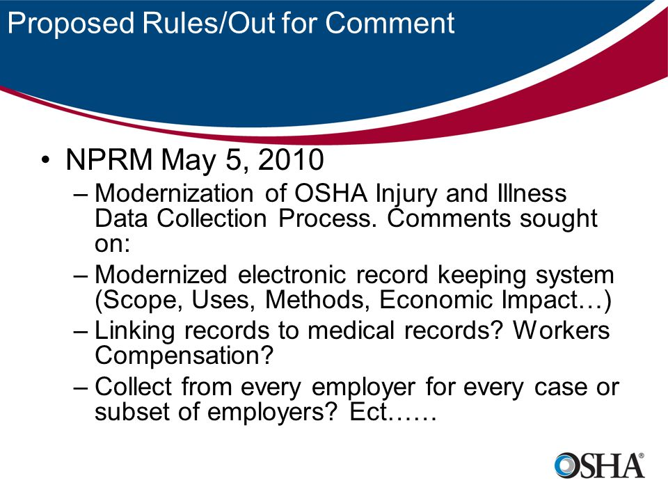 Recordkeeping and Offshore Work LOI September 1, 2005 –Question – Is an employee fatality that occurred in a foreign country recordable.