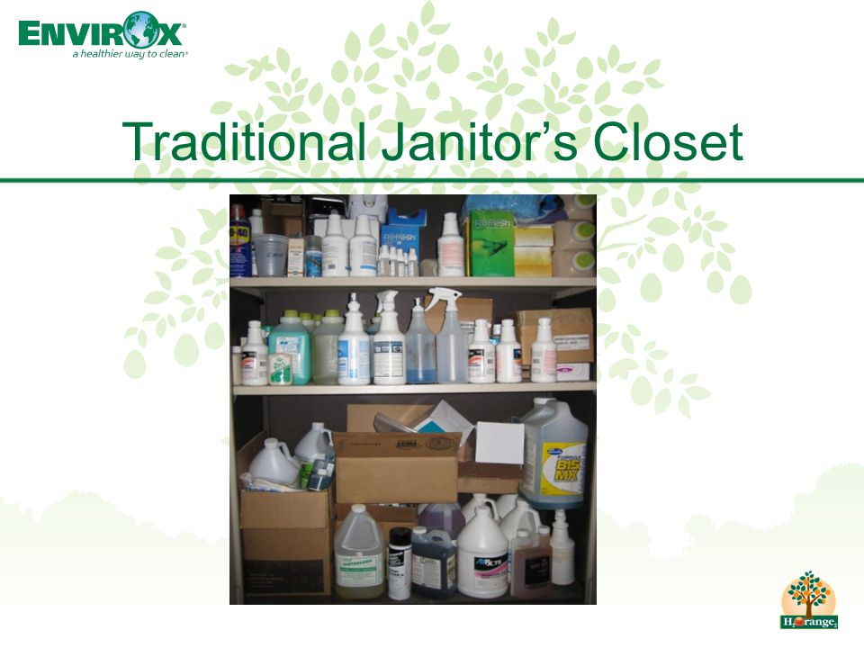 Traditional Janitor's Closet