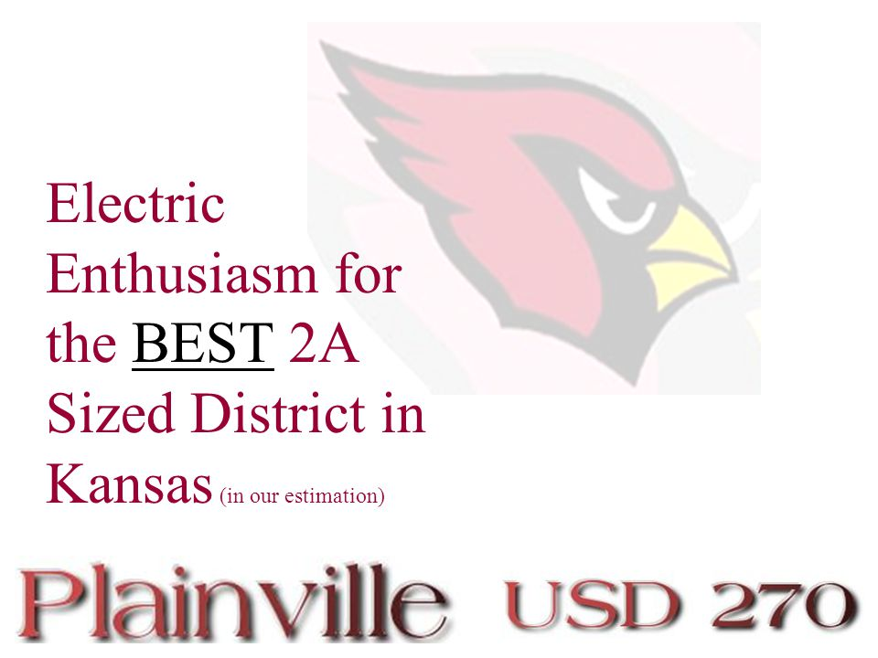 Electric Enthusiasm for the BEST 2A Sized District in Kansas (in our estimation)