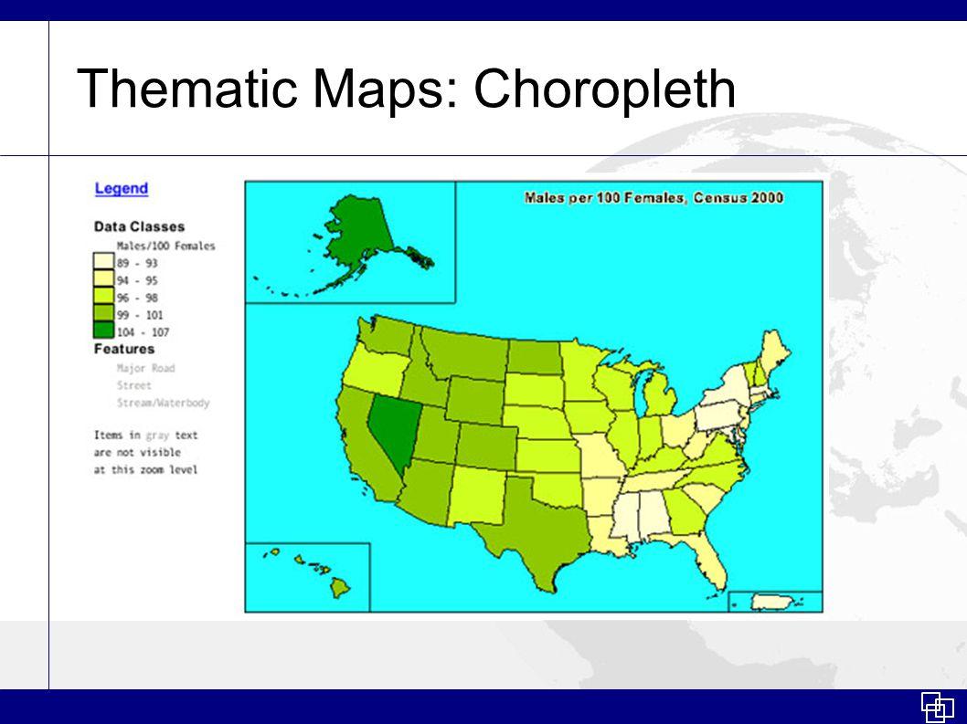 Thematic Maps: Dasymetric