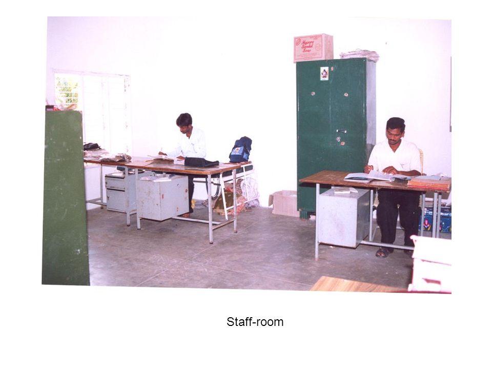 Class 8 students in Telugu class