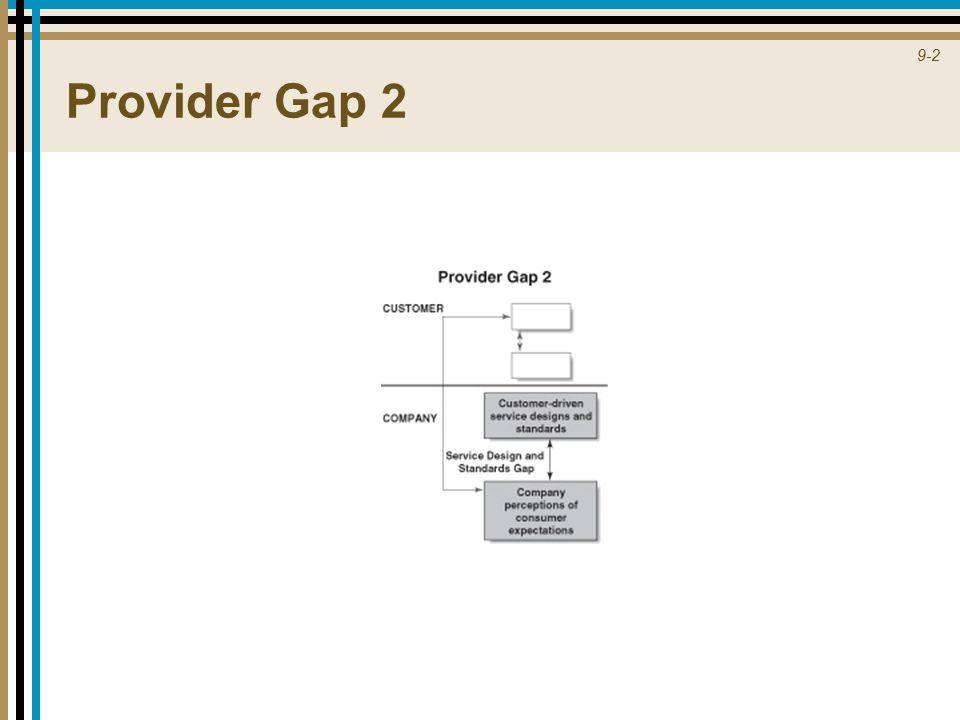 9-2 Provider Gap 2