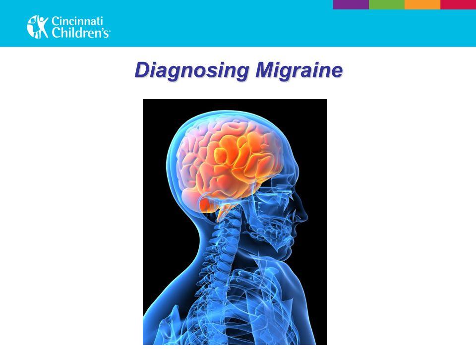 Diagnosing Migraine