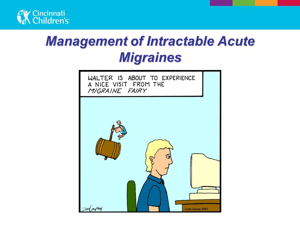 Management of Intractable Acute Migraines