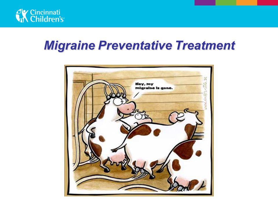 Migraine Preventative Treatment