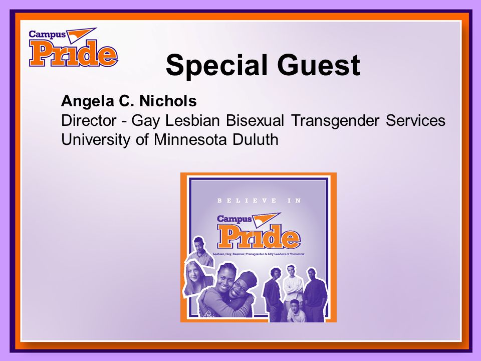 Special Guest Angela C.