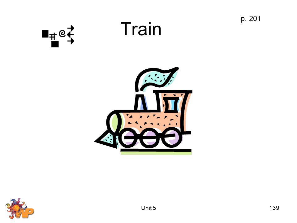 Unit 5139 Train p. 201