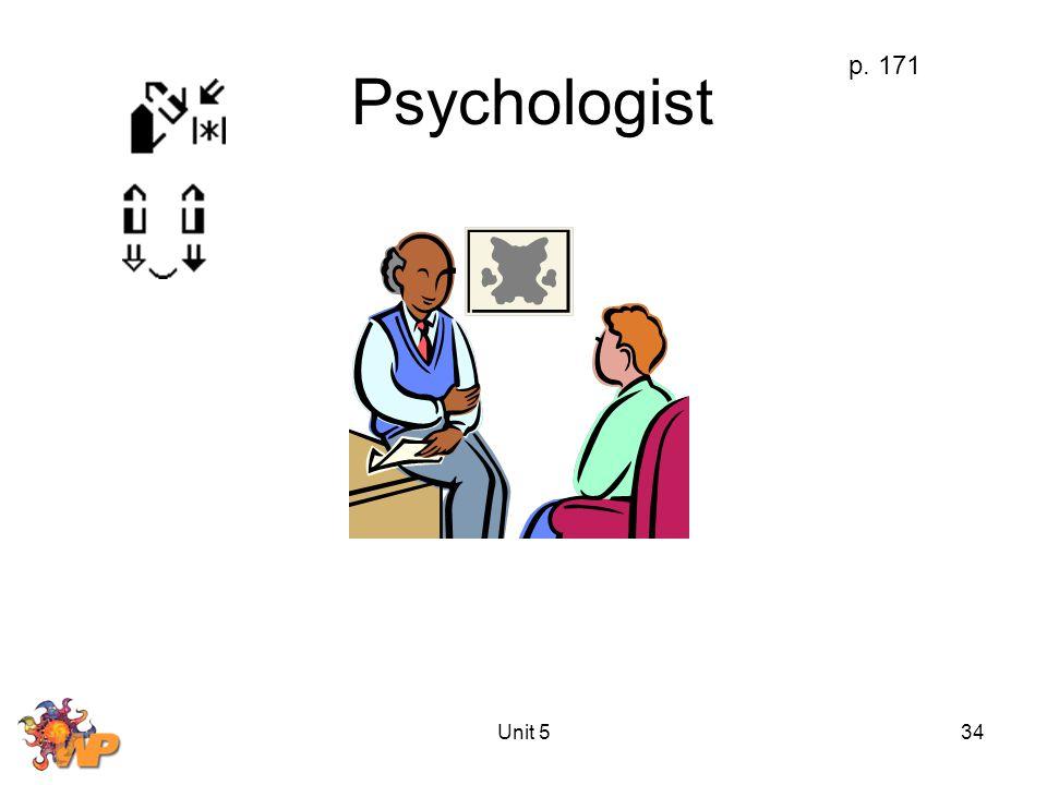 Unit 534 Psychologist p. 171