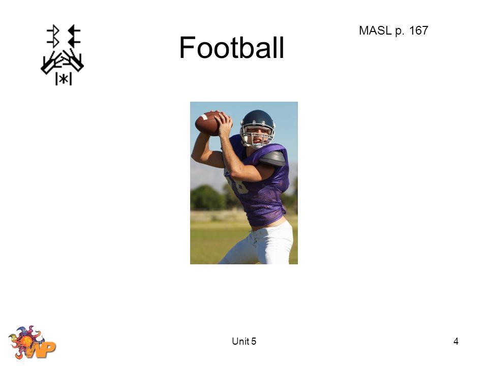 Unit 54 Football MASL p. 167