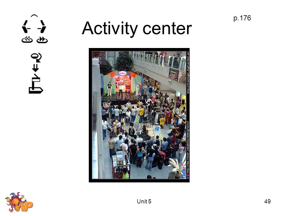Unit 549 Activity center p.176