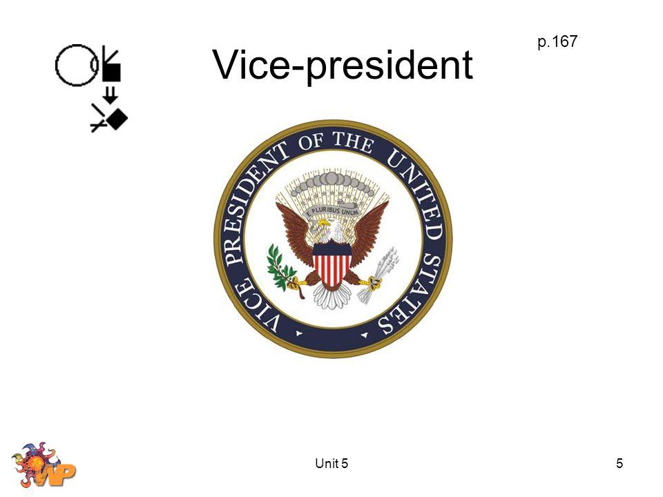 Unit 55 Vice-president p.167