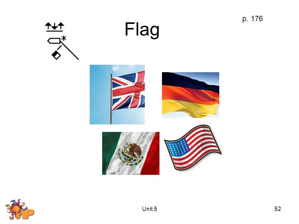 Unit 552 Flag p. 176