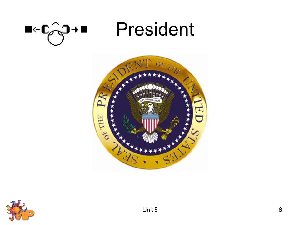 Unit 56 President