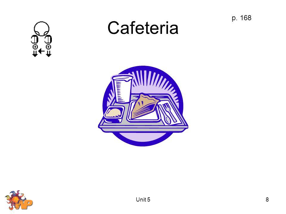 Unit 58 Cafeteria p. 168