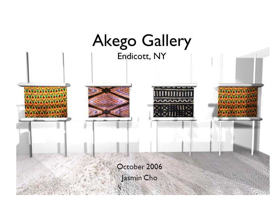 Akego Gallery Endicott, NY October 2006 Jasmin Cho