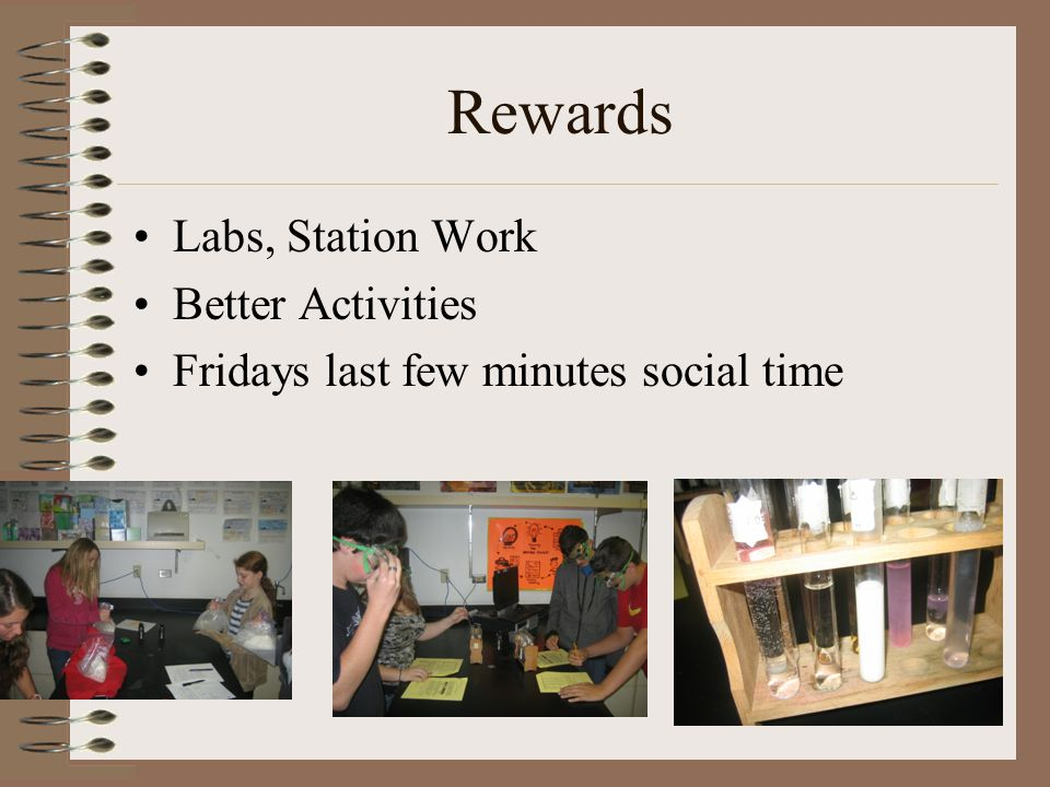 Rewards Labs, Station Work Better Activities Fridays last few minutes social time