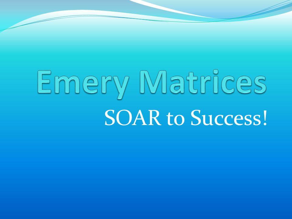 SOAR to Success!