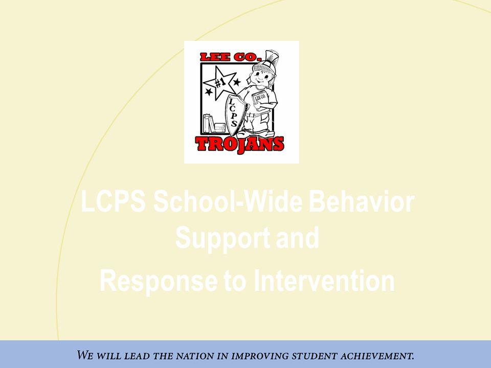 Lee County Primary School-Wide Discipline Matrix 2008-09