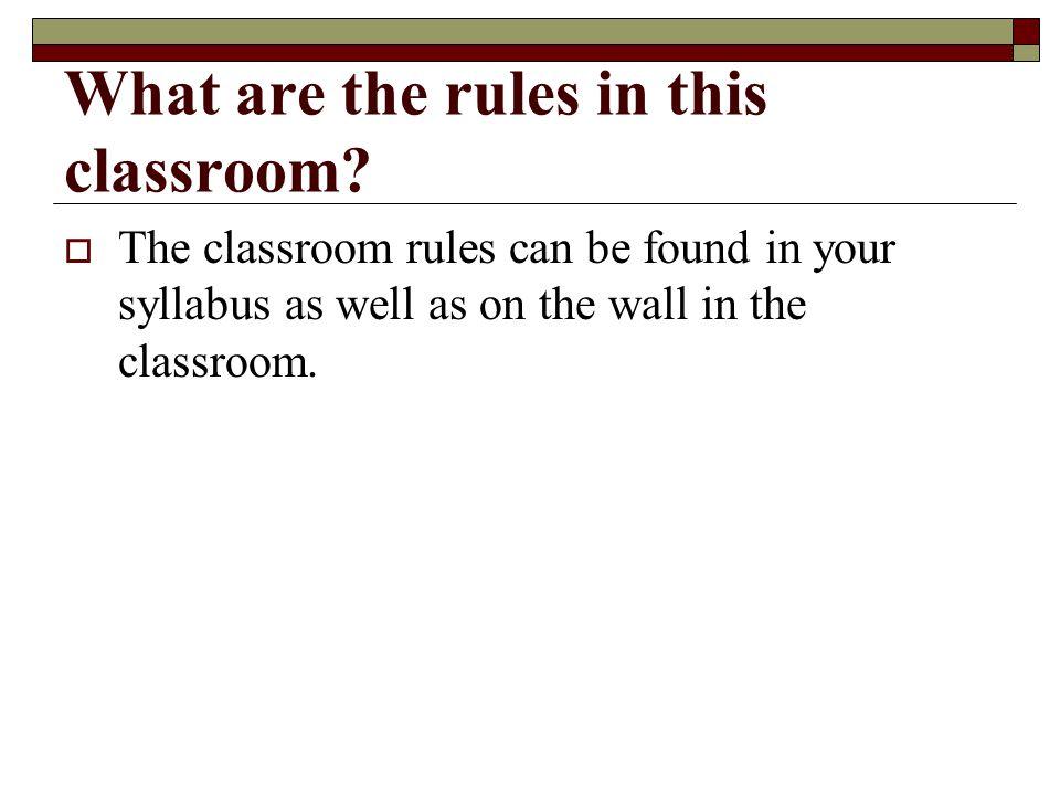 Ms. Teague's Classroom Contract Guidelines Procedures