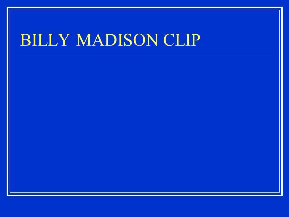 BILLY MADISON CLIP